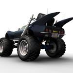 3D rendering of the Gatmobile!
