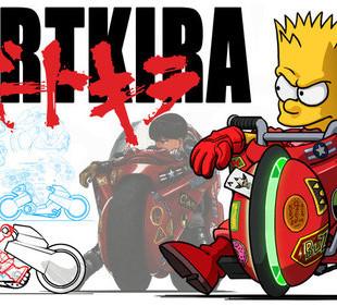 Simpsons X Akira = Awesome