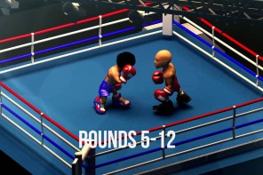 Floyd Mayweather Manny Pacquiao 30 second fight recap FightNightWeekend.com (Animation by @BroadwayAllday)