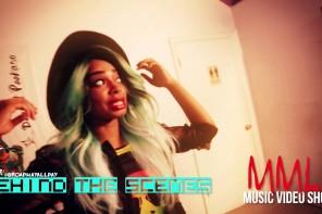 Behind the Scenes with @BroadwayAllDay – Music Video – K.O.V.E. f Tiara Monet MMLL